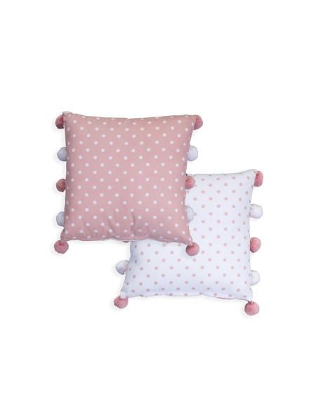 Διακοσμητικό Μαξιλάρι Deco Time Pink NEF-NEF