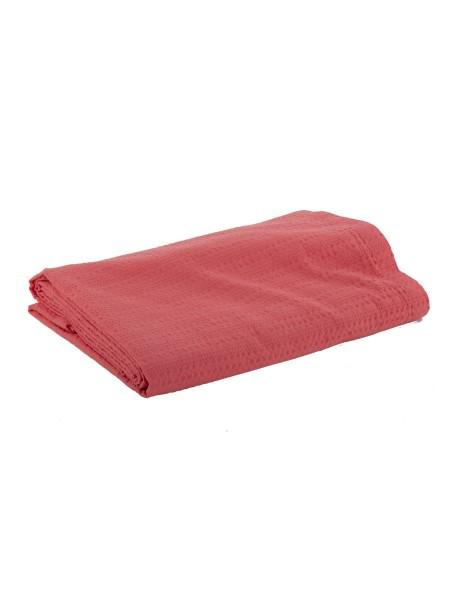 Κουβέρτα πικέ υπέρδιπλη Cool Coral NEF-NEF