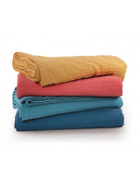 Κουβέρτα πικέ υπέρδιπλη Cool Dusty Aqua NEF-NEF