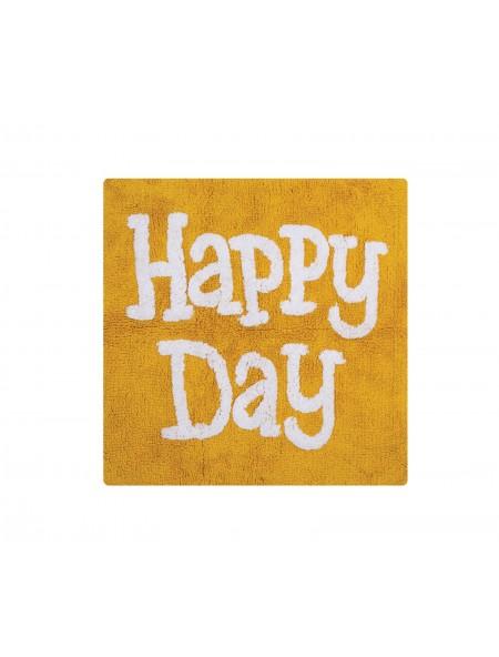 Χαλάκι μπάνιου Happy Day Yellow NEF-NEF