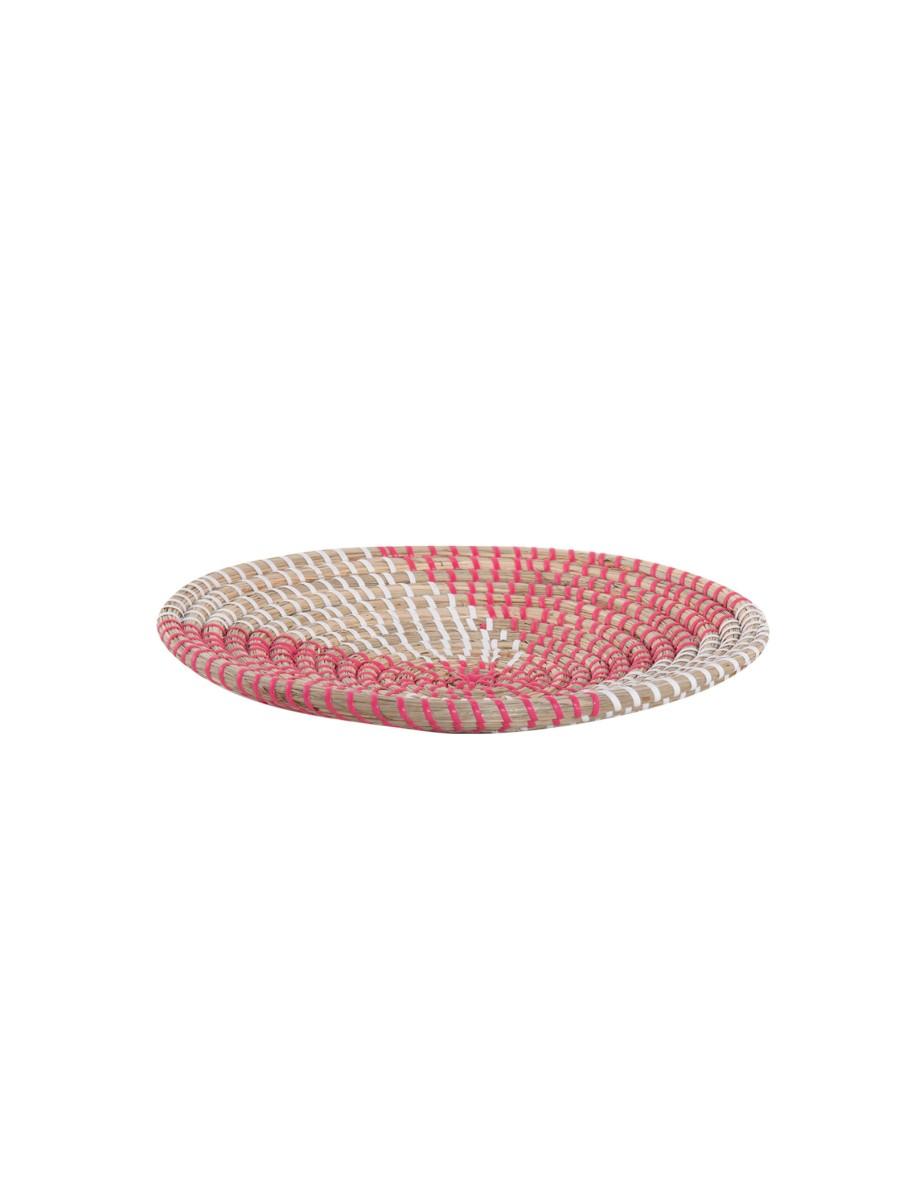 Διακοσμητικό Πιάτο Τοίχου Noble Coral/White NEF-NEF