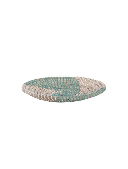 Διακοσμητικό Πιάτο Τοίχου Noble Aqua/White NEF-NEF