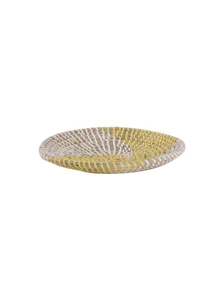 Διακοσμητικό Πιάτο Τοίχου Noble Yellow/White NEF-NEF
