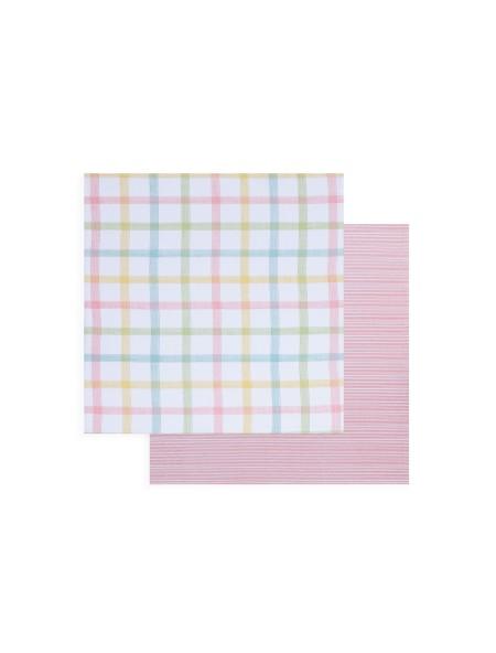 Σουπλά υφασμάτινο 2 όψεων Walter Multi/Pink NEF-NEF