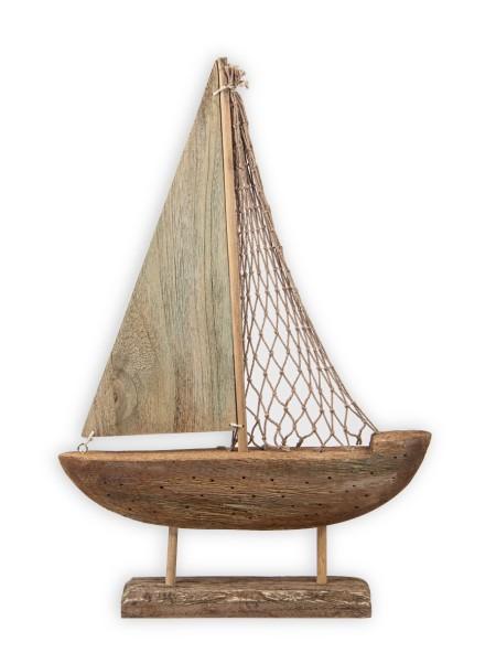 Ξύλινη Βάρκα με βάση