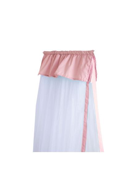 Κουνουπιέρα Κούνιας Pink NEF-NEF