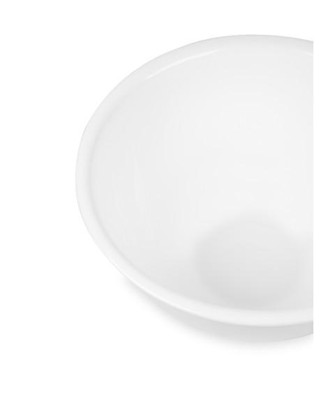 Γυάλινο λευκό μπολ σερβιρίσματος 25.5cm