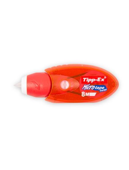 Διορθωτική Ταινία Tipp-ex Micro Tape Twist 5mm x 8m Κόκκινο