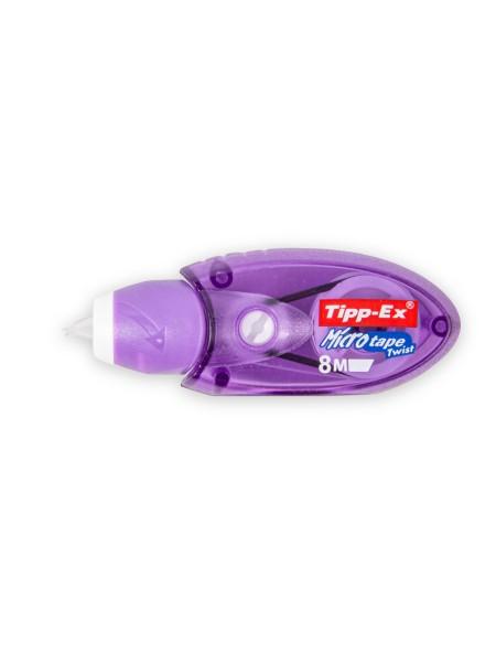 Διορθωτική Ταινία Tipp-ex Micro Tape Twist 5mm x 8m Μωβ