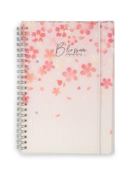 Τετράδιο σπιράλ σημειώσεων A5 Spree Cherry Blossom