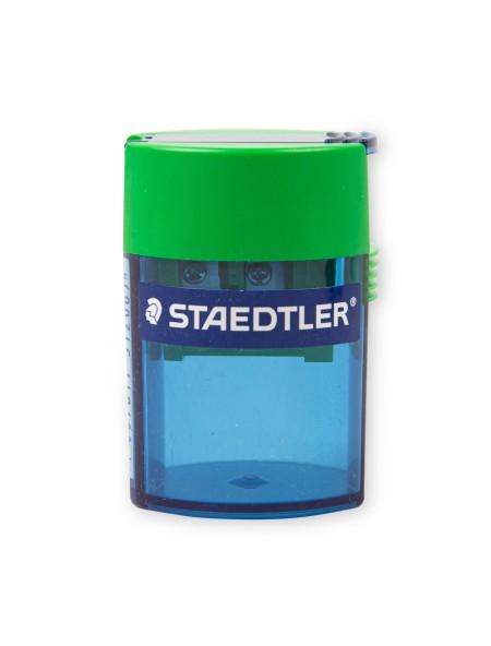 Ξύστρα Μολυβιών Διπλή Βαρελάκι Μπλε Staedtler