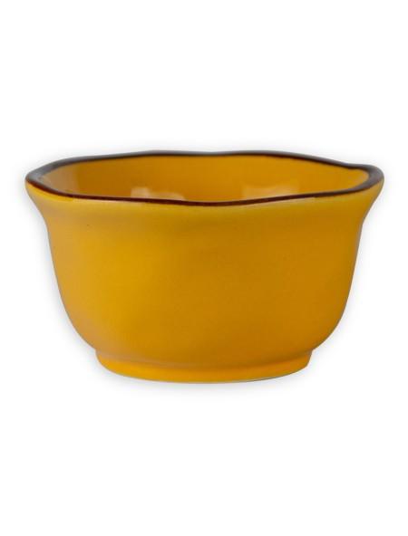 Μπολάκι σερβιρίσματος κεραμικό κίτρινο