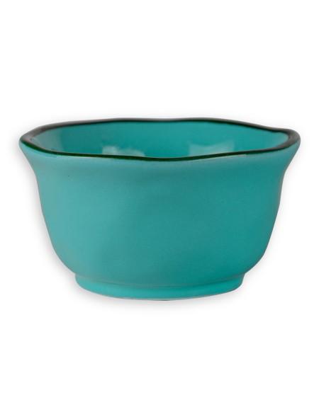 Μπολάκι σερβιρίσματος κεραμικό γαλάζιο