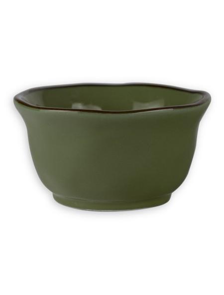 Μπολάκι σερβιρίσματος κεραμικό πράσινο