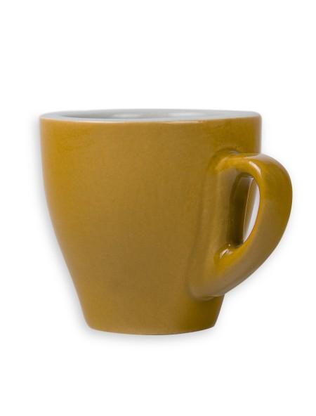 Φλιτζάνια κεραμικά Κίτρινο σετ 6 τεμαχίων