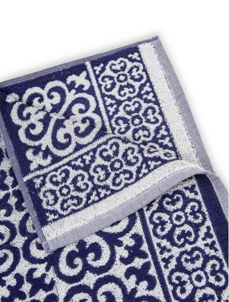 Πετσέτα προσώπου ζακάρ μπλε 50x100cm
