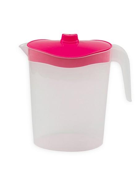 Κανάτα νερού πλαστική 2.5L μωβ