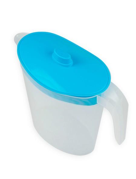 Κανάτα νερού πλαστική 2.5L γαλάζιο