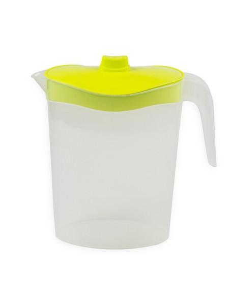Κανάτα νερού πλαστική 2.5L κίτρινο