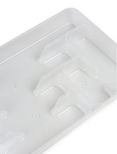 Θήκη συρταριού πλαστική για μαχαιροπίρουνα διάφανη