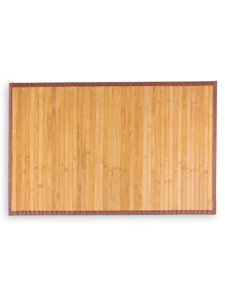Ταπέτο μπάνιου Bamboo Μπεζ 50x100cm