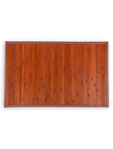 Ταπέτο μπάνιου Bamboo Πορτοκαλί 50x100cm