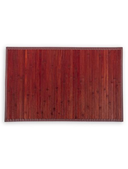 Ταπέτο μπάνιου Bamboo Μπορντό 50x100cm