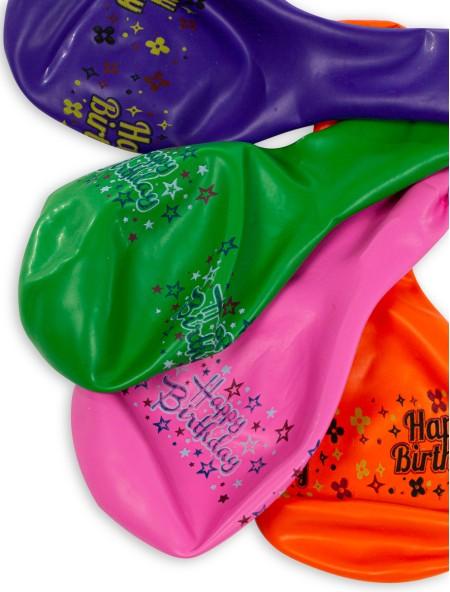 Μπαλόνια χρωματιστά σετ 4 τεμαχίων