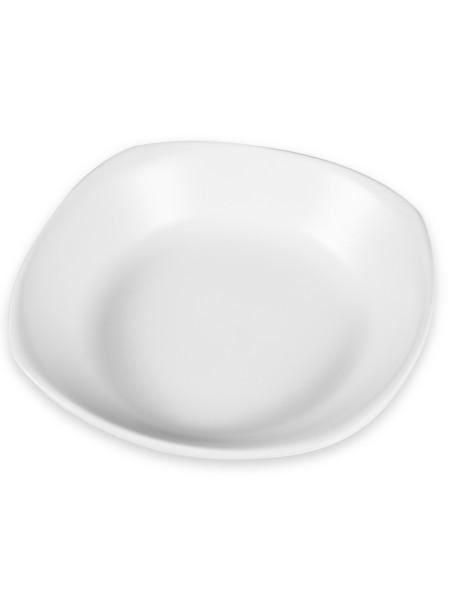 Πιάτο πορσελάνης βαθύ τετράγωνο