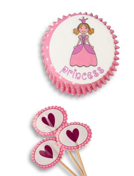 Φορμάκια για cupcake σετ 24 τεμάχια
