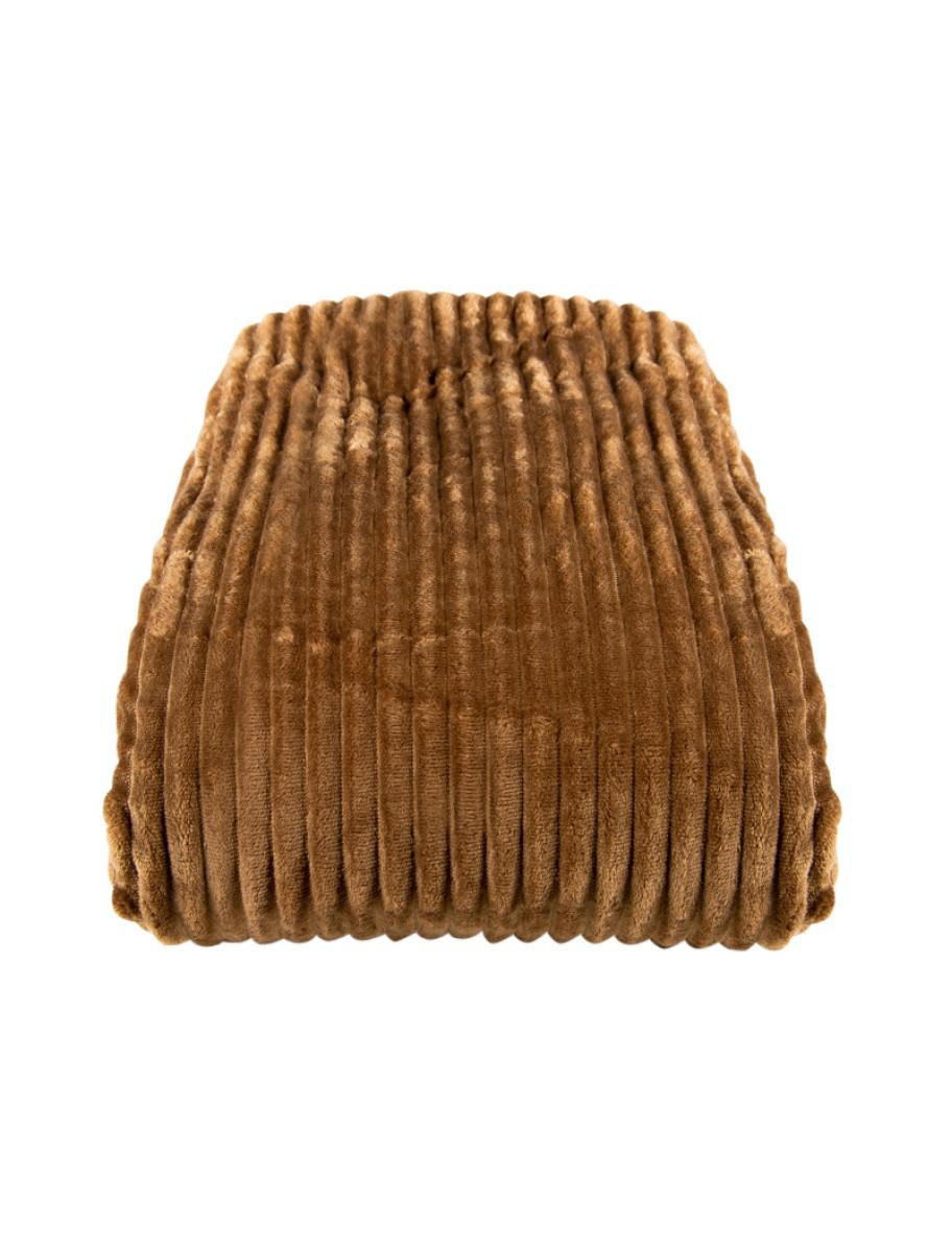 Κουβέρτα διπλή φλάνελ με ρίγες