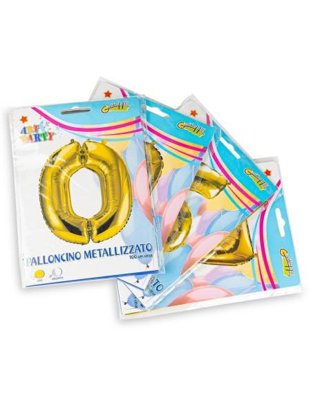 Μπαλόνι ασημί 100cm Art & Party