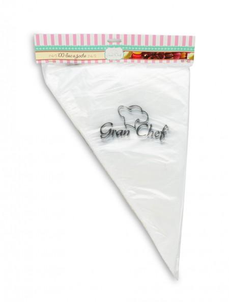 Κορνέ σακούλες ζαχαροπλαστικής σετ 100 τεμάχια