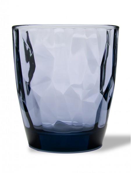 Ποτήρι γυάλινο Diamond νερού μπλε