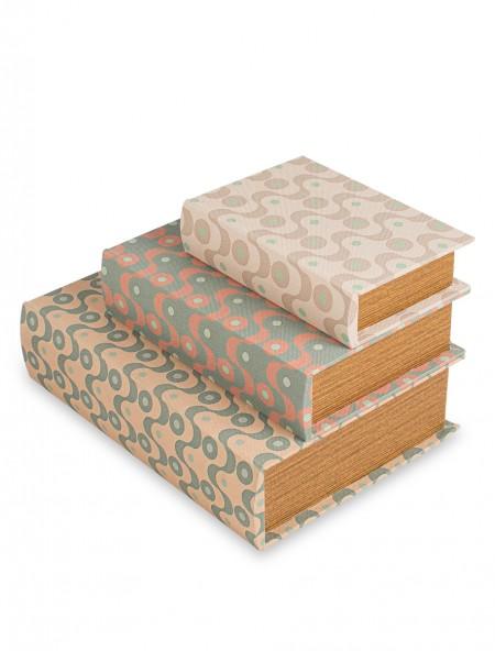 Διακοσμητικό κουτί ξύλινο σετ 3 τεμαχίων