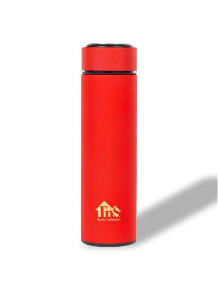 Θερμός μπουκάλι επενδυμένος με καπάκι inox 480ml