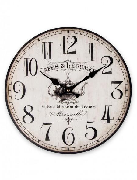 Ρολόι τοίχου Cafes & Legumes