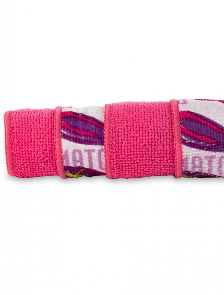 Πετσέτα κουζίνας με μικροϊνες σετ 4 τεμαχίων ροζ