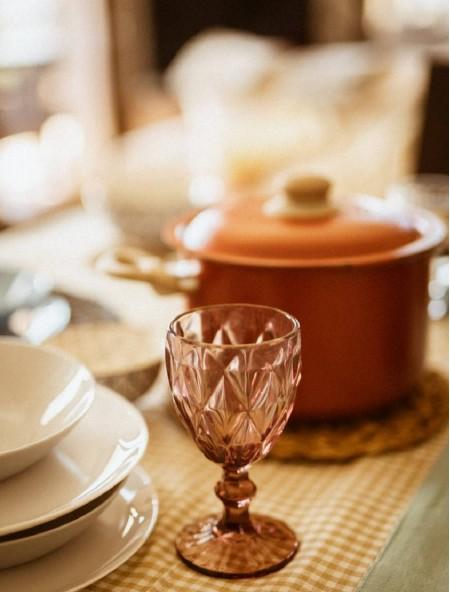 Ποτήρι για κρασί Salute σετ 6 τεμαχίων μωβ