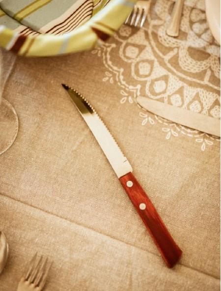 Μαχαίρι φαγητού από ανοξείδωτο ατσάλι