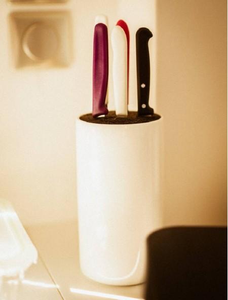 Μαχαίρι από ανοξείδωτο ατσάλι άσπρο 9cm