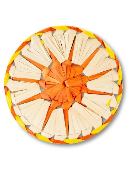 Σουπλά κατσαρόλας από Bamboo πορτοκαλί