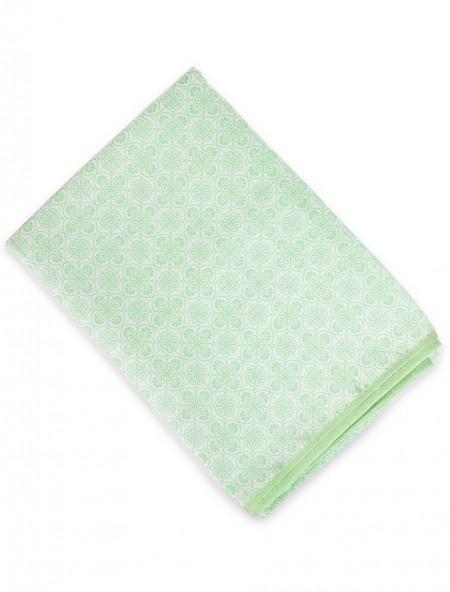 Τραπεζομάντηλο αδιάβροχο έθνικ μοτίβο πράσινο
