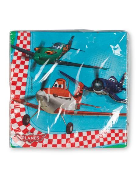 Χαρτοπετσέτες Αεροπλάνα σετ 16 τεμαχίων