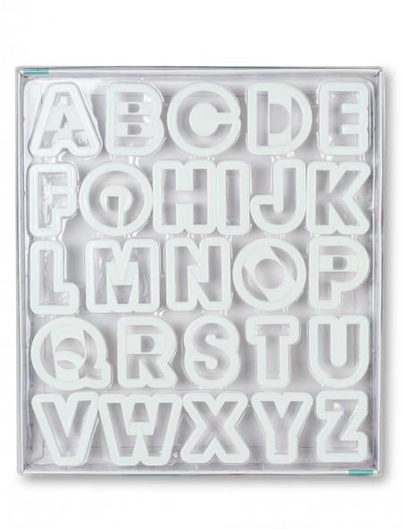 Φορμάκια γράμματα σετ 26 τεμάχια
