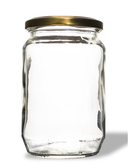 Βάζο γυάλινο γλυκών 370ml
