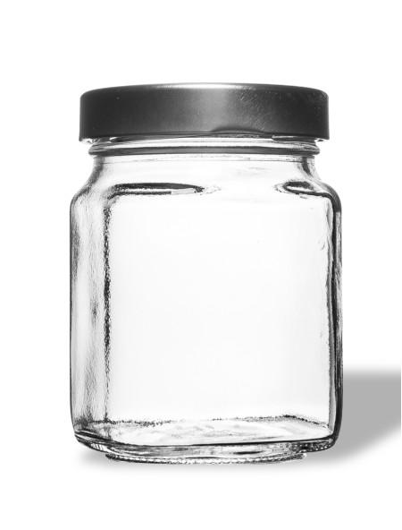 Βάζο γυάλινο γλυκών 370ml Breeze