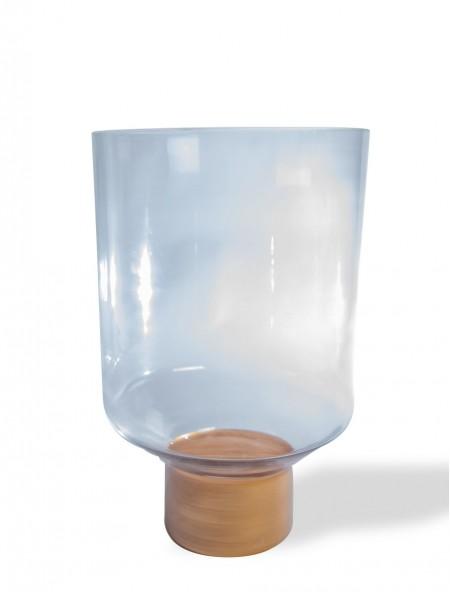 Βάζο γυάλινο διάφανο