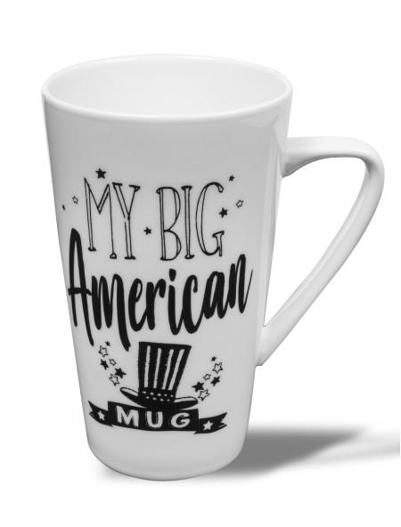 Κούπα πορσελάνης My Big American Mug XXL Dutch Rose