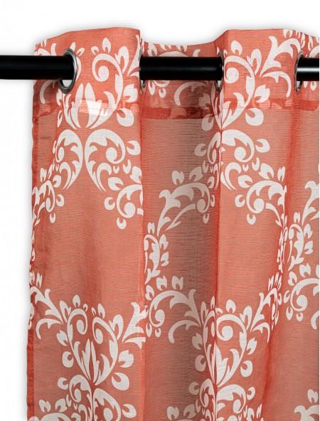 Κουρτίνα δωματίου με floral σχέδια